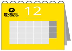 12 Blatt Wandkalender